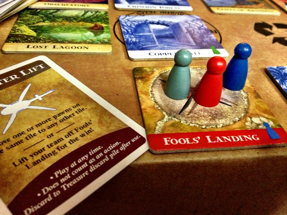 """Started playing more board games, mostly due to a podcast I start watching called """"Table Top""""."""